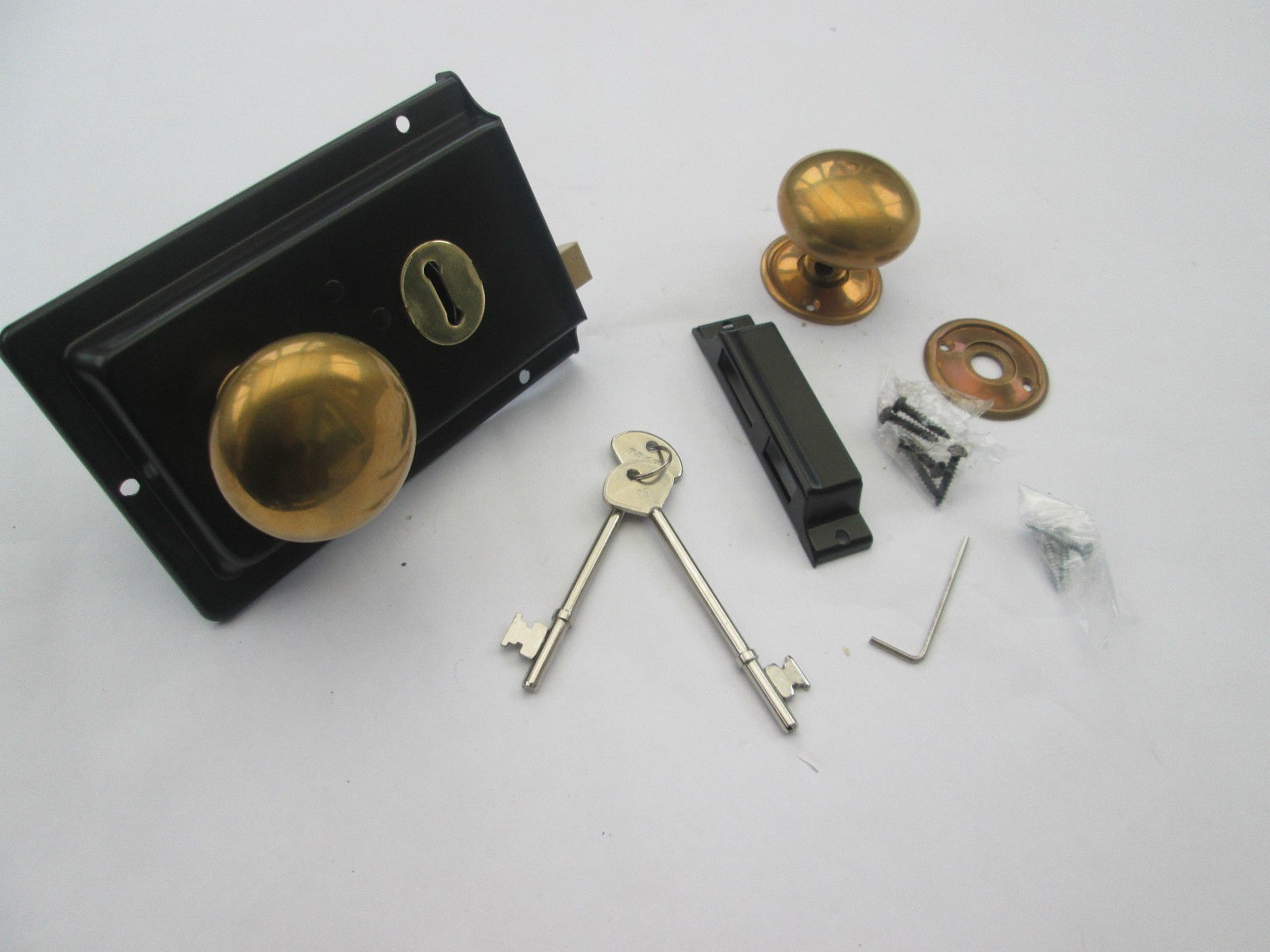 Replica 1900 S Rim Lock Set Ironmongery World