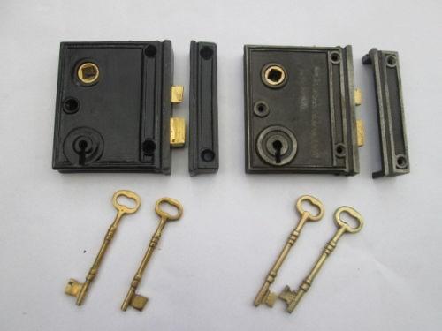 rim lock cast iron dating