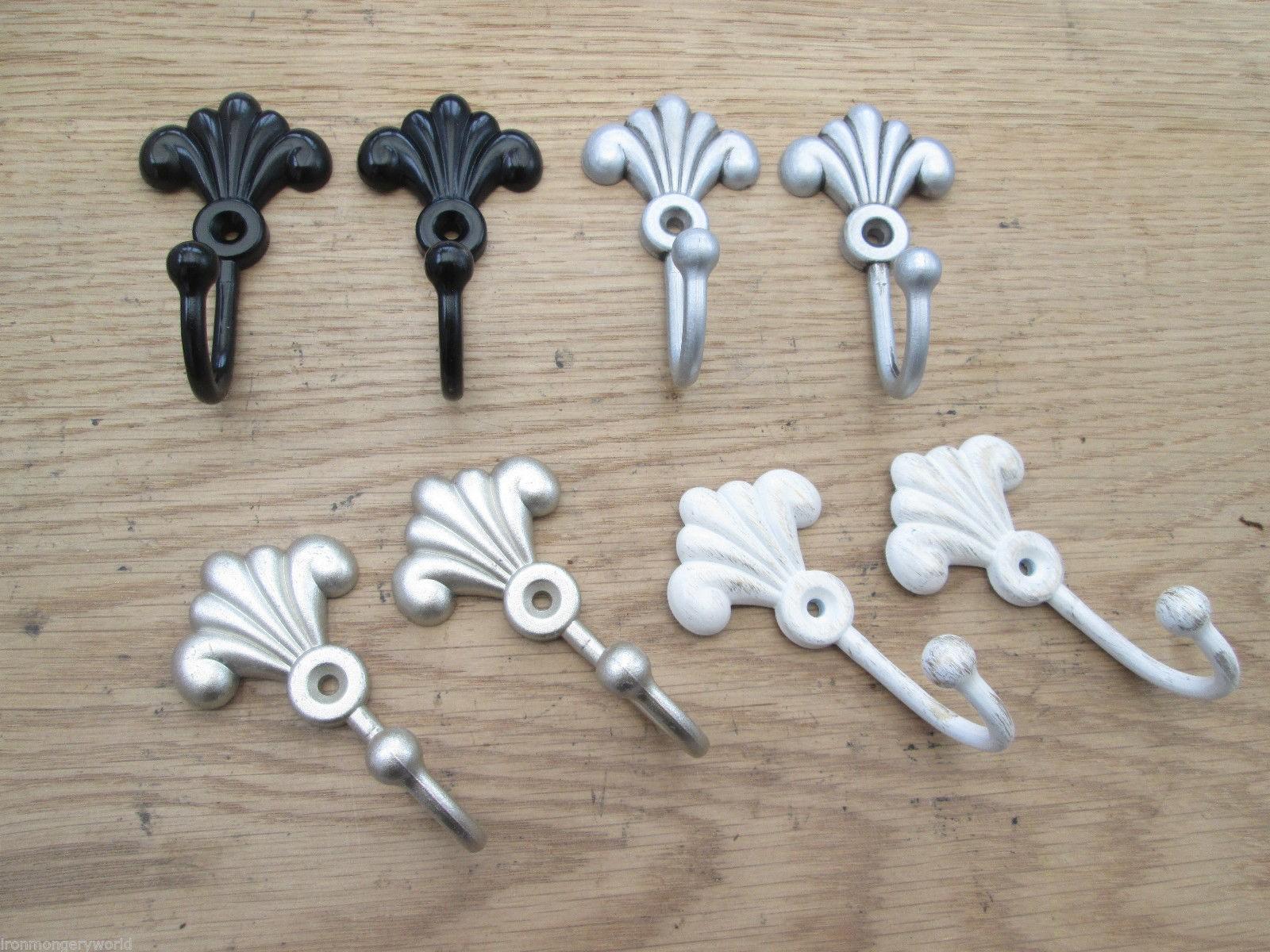 Fleur De Lys Curtain Tie Back Hook Ironmongery World
