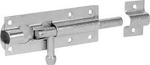 Galvanised Tower Bolt Lock Ironmongery World
