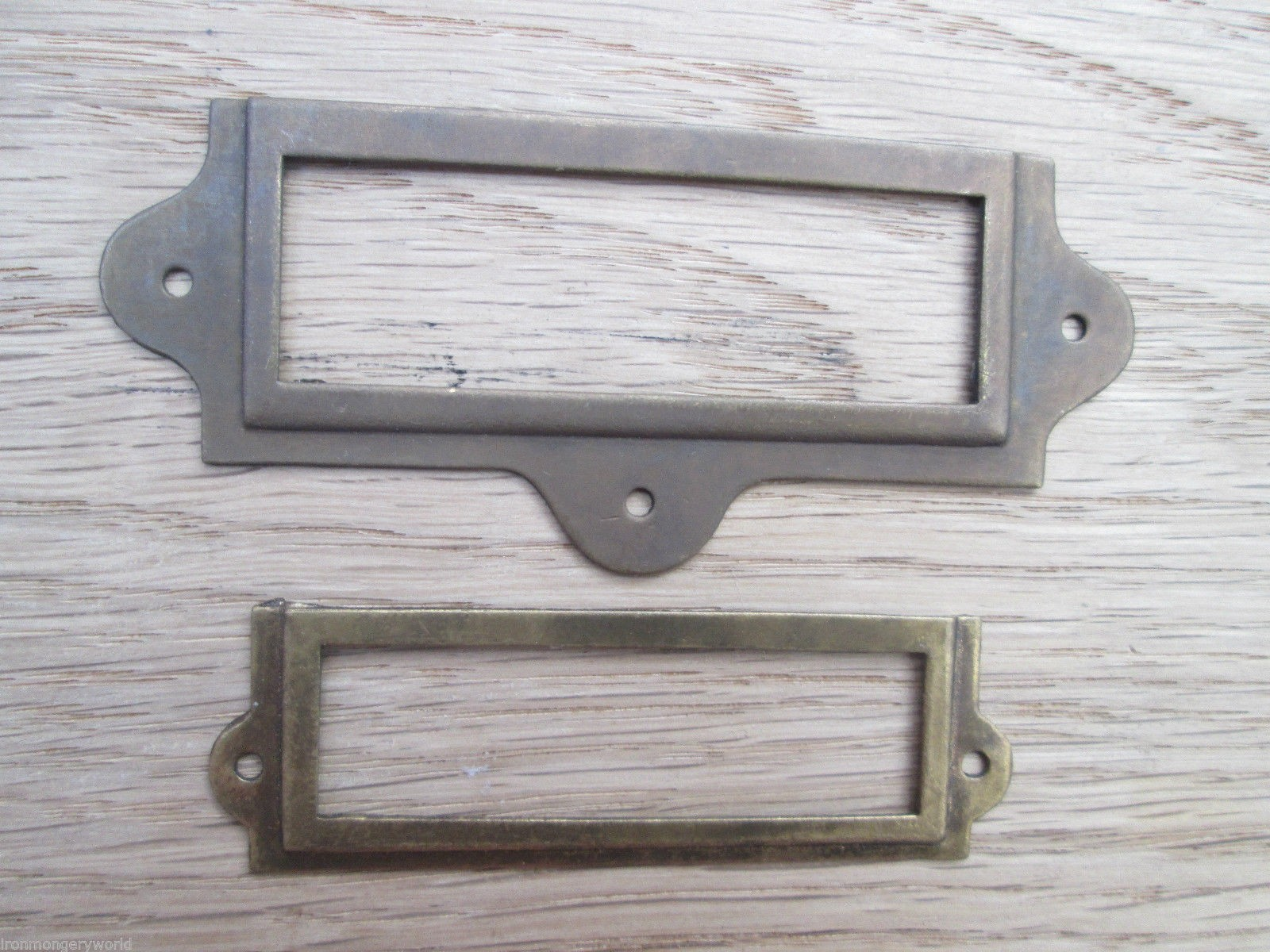 Small Label Card Frame Holder Ironmongery World