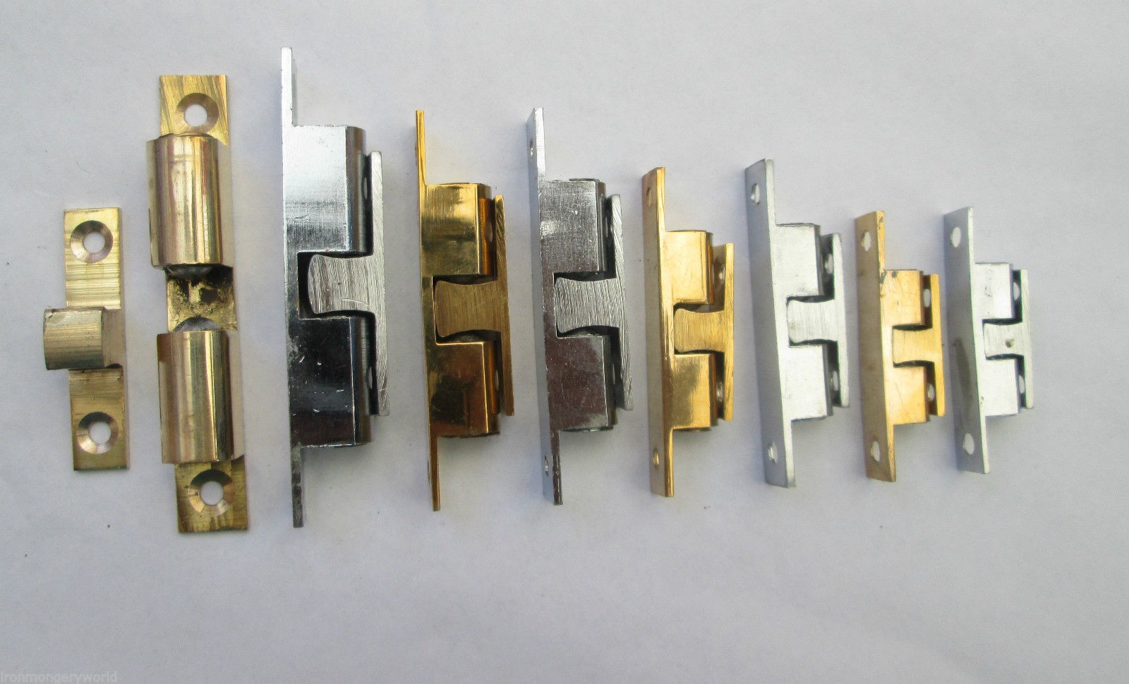 Solid Brass Double Ball Catch Latch Ironmongery World