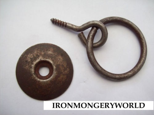 Cupboard And Drawer Rustic Ring Pull Ironmongery World