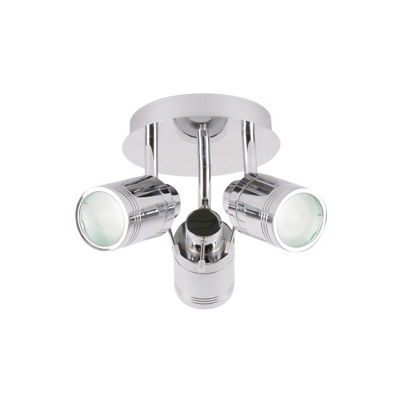 Bathroom Light Fittings Toolstation: Bora LED 3 Plate Spot Light