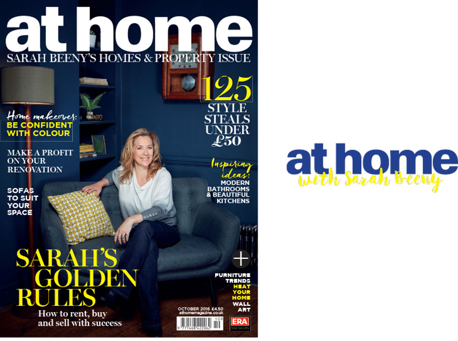 At Home with Sarah Beeny (magazine cover)