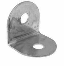 Pack Of 10 19mm Corner Brace Silver Zinc