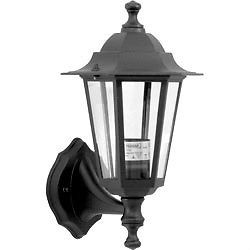 Black Wall Mounted Lantern Light