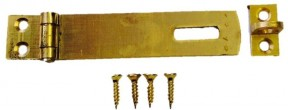 Hasp And Staple 50mm Small Brass