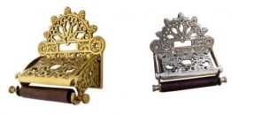 ornate toilet roll holders