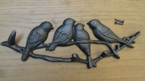 Birds on Branch Key Hanger
