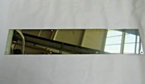 Door kick plate Polished Steel 800 x 150 mm