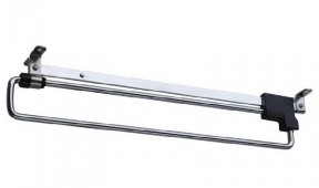 Retractable Wardrobe Rail 410mm