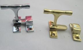 "2"" Brass Cabinet Catch Latch"
