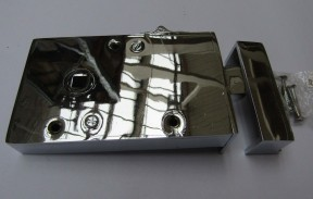 Solid Brass Construction Right Hand Latch Polished Chrome