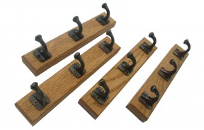 Coat Rack English Oak Wood