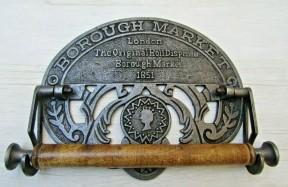 Borough Market London 1851 Kitchen Roll Holder