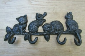 Kittens on Branch Key Hanger