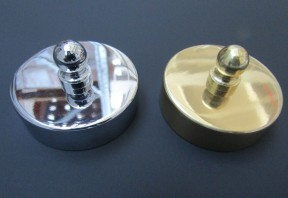 Polished Chrome 44mm Small end Cap