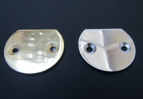 Polished Chrome 54mm Large end disc
