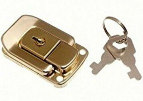 Toggle Catch Small Locking Brass
