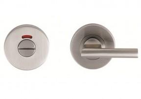 Bathroom Thumb Turn Door lock Satin Steel- Disabled