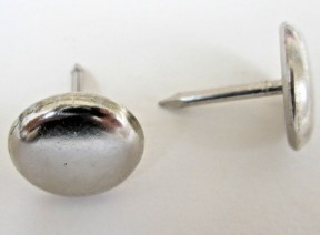Pack Of 20 Nail In Furniture Floor Glides 16mm Chrome