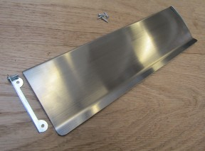 "12"" Inner Flap Tidy Satin Chrome"