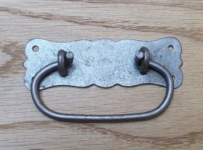 Regal Ring Pull Handle Antique Iron