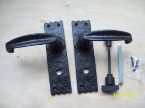 replica antique bathroom door handles