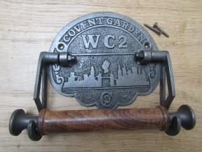 Covent Garden Toilet Roll Holder Antique Iron
