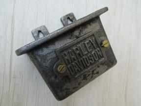 Cast Iron Harley Davidson Cap Catcher