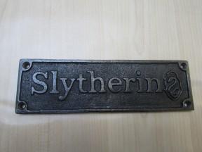 Cast Iron Slytherin Plaque