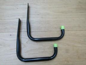 Pack of 2 Universal Storage Hooks 17cm