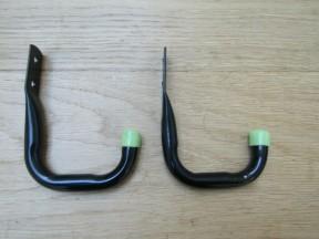 Pack of 2 Universal Storage Hooks 7cm