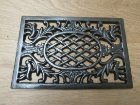 Westminister Flat Grille Cover Antique Iron