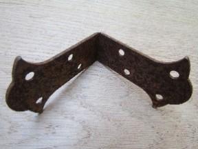 Pack Of 2 Butterfly Corner Brace Rust