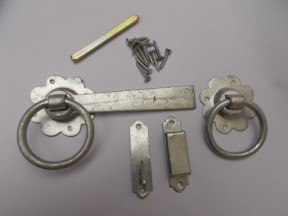 "Ring Latch 6"" Galvanised Steel"