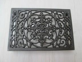 "9"" x 6"" Ornate Decorative Air Brick Antique Iron"