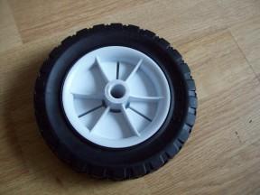 "Black Tyre Cart Wheel 6"""