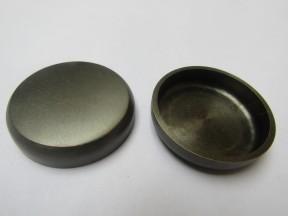 Pack Of 4 Castor Cups Antique Brass