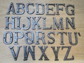 "3"" Antique Iron Letter C"