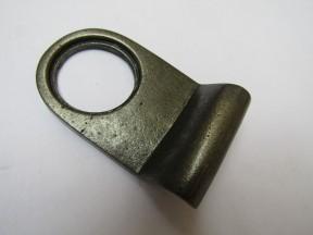Plain Door Cylinder Pull Antique Iron