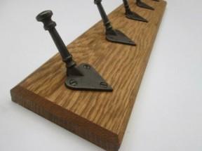 Plain Arts & Crafts Coat Hook Rail