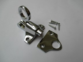 Attic Fanlight Catch Polished Chrome