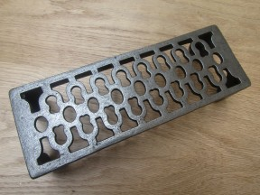 "9"" x 3"" Air Brick Antique Iron"