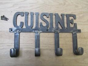 Cuisine Hook Rail antique iron