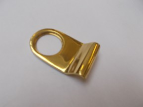 Plain Door Cylinder Pull Polished Brass