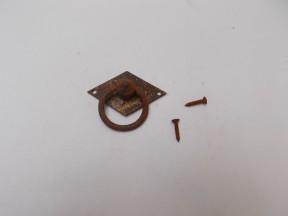 Horizontal Diamond Ring Pull Rust