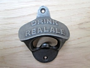 Cast Iron Drink Real Ale Bottle Opener