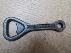 Cast Iron Flat Coca Cola Bottle Opener
